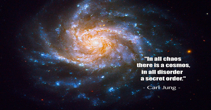 In all chaos there is a cosmos; in all disorder, a secret order. - Carl Jung