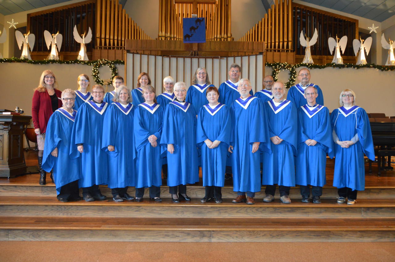 Senior choir, Christmas 2016